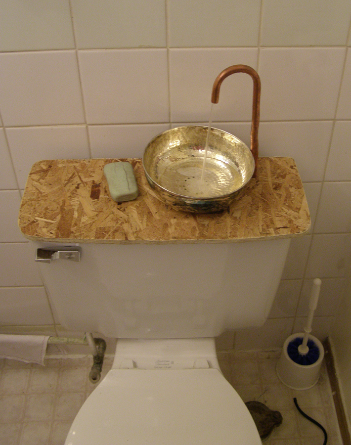 hack a toilet for free water 8 steps