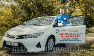 BOSANCU NICOLAE – Instructor Auto – Suceava