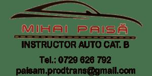 MIHAI PAISA - Instructor auto - Bucuresti