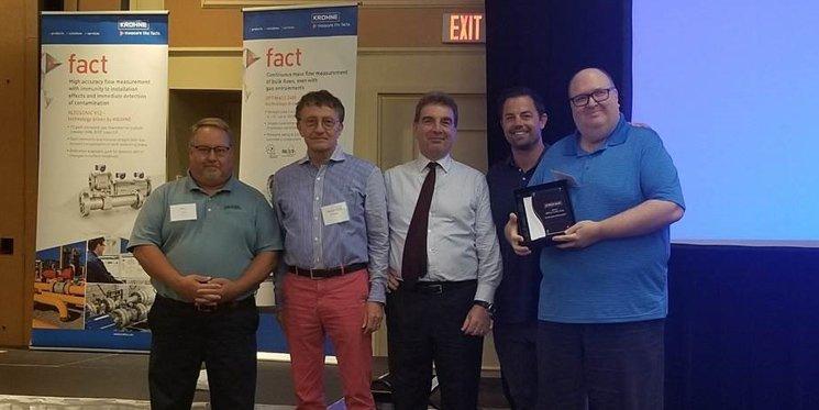 IA Receives Krohne's Million Dollar Club Award - Instrument Associates