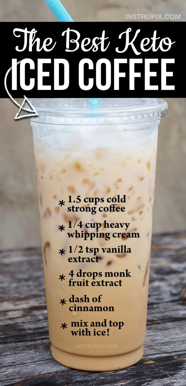 Easy Keto Iced Coffee Recipe At Home