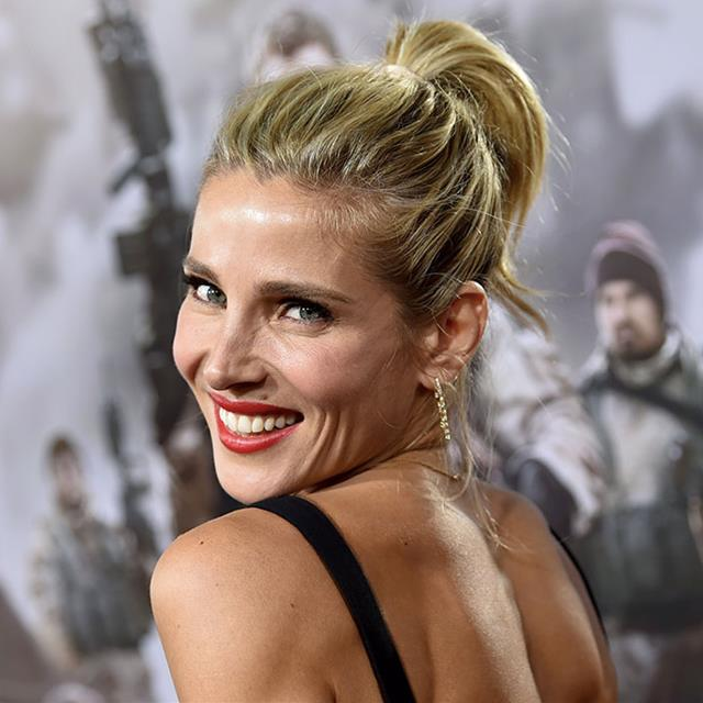 Elsa Pataky's sports shoes are Spanish, trendy and supportive
