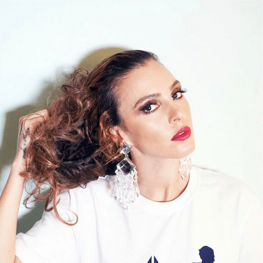 celebrities-actually hair Tamta-famous-singer-