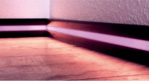 LED tape profile  Skirting Board (Kickboard) Extrusion