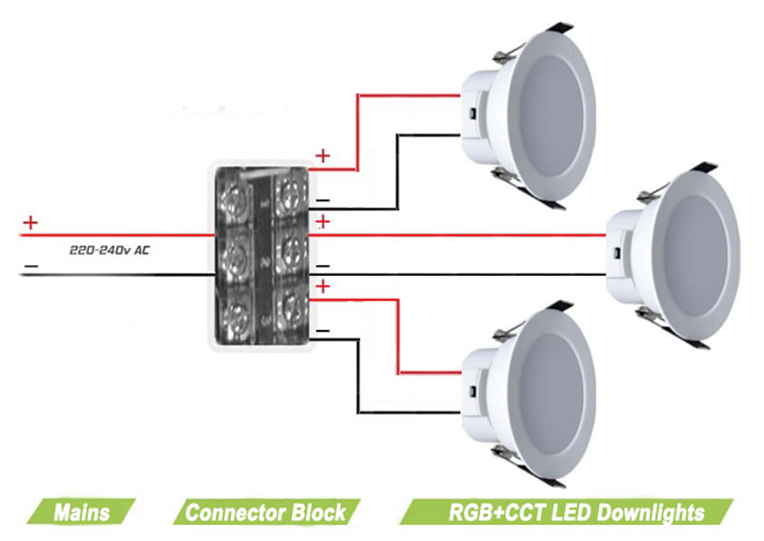 Amazing Wiring Downlights Diagram Model Electrical Diagram Ideas