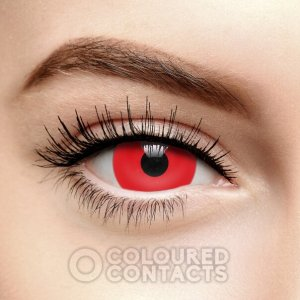 Red devil Halloween Contact Lenses