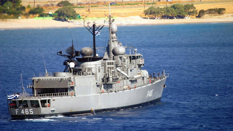 Industrial motor starter – Greek navy