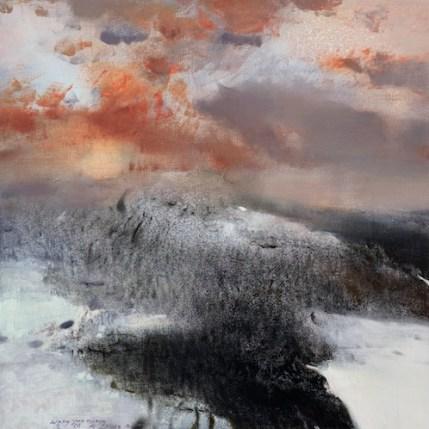 Senza titolo (2013), olio su tela 150 x 150cm