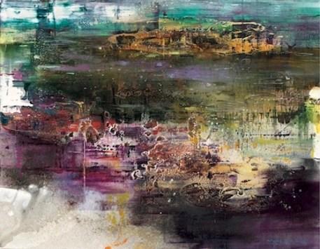 Senza titolo (2016), olio su tela 200 x 260cm