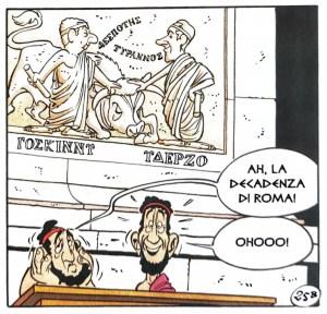 """1.In Asterix alle Olimpiadi (1968) compaiono René Goscinny e Albert Uderzo, """"scolpiti"""" in un bassorilievo a Olimpia."""