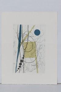 composizione (1986) acquaforte (vernice molle e acquatinta)