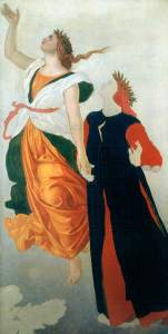 Dyce, William; Dante and Beatrice; Aberdeen Art Gallery & Museums; http://www.artuk.org/artworks/dante-and-beatrice-106878