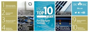 IBC's Top 10 things to do around the house as daylight saving time ends