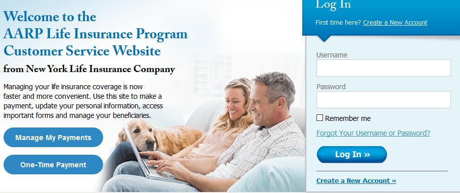 New York Life Aarp >> Www Nylaarp Com Service Aarp Life Insurance Login Manage