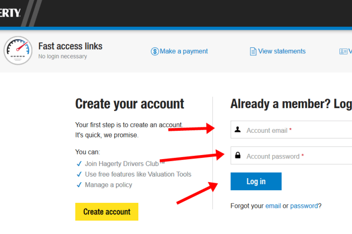 Hagerty Auto Insurance Login – www.hagerty.com