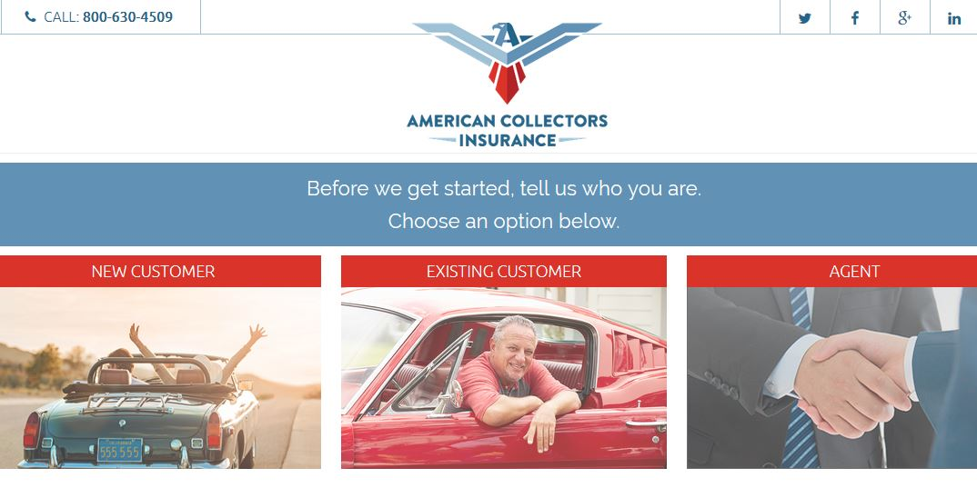 American Collectors Insurance Login