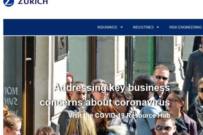 Zurich Business Insurance Login To Pay Zurich Bill