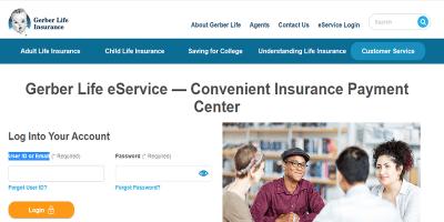 Gerber Life Insurance Provider Portal   Customer Login Portal