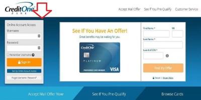 Credit One Bank Login | Credit One Enrollment & Payment