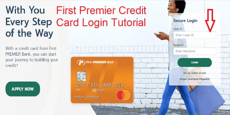 First Premier Bank Credit Card Login | Online Bill Payment