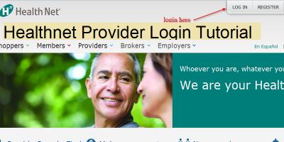 Healthnet Provider Login | Login or Register | Submit Claims