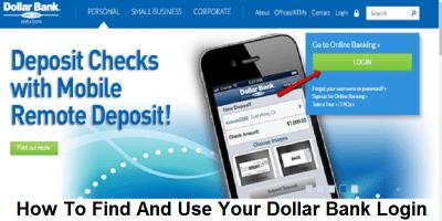 Dollar Bank   Log In or Enroll – Dollar Bank Login