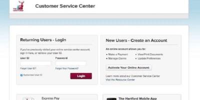 Account Access | Log In or Register – Hartford Insurance Login