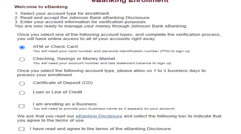 How To Find And Use Your Johnson Bank Login
