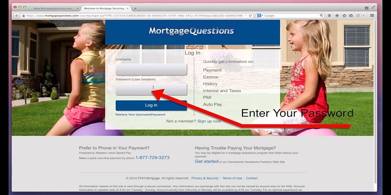 PHH Mortgage Login