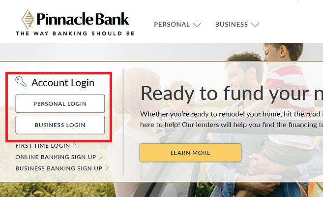 Pinnacle Bank Login
