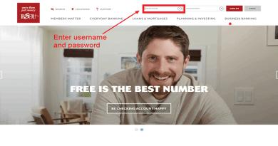 BECU Online Banking Login Process