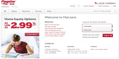 Flagstar Mortgage Login | Flagstar Mortgage Payment