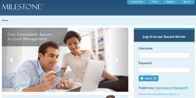 Milestone Credit Card Login   Milestone Credit Card Payment