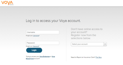 Voya Financial Login   How To Access Your VOYA Account