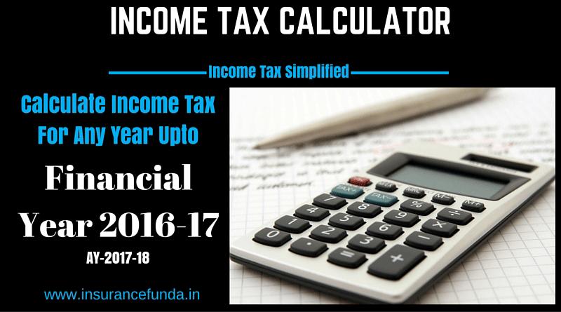 Income Tax Calculator India