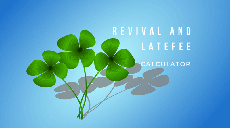 LIC policy revival and late fee calculator