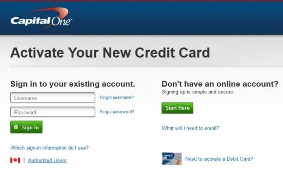 capitalone com/activate | How To Activate New Capital One