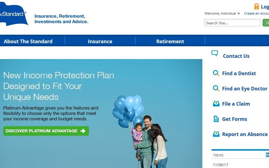 Standard Insurance Login