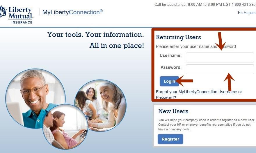 Liberty Mutual Insurance Login