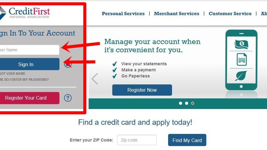 Firestone Credit Card Bill Payment