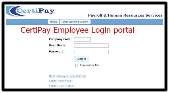 CertiPay Employee Login