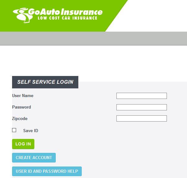 GoAuto Insurance Login