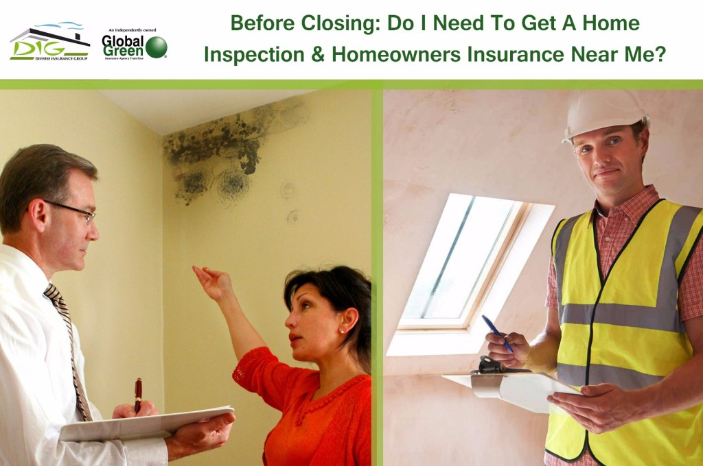 home inspection homeowners insurance