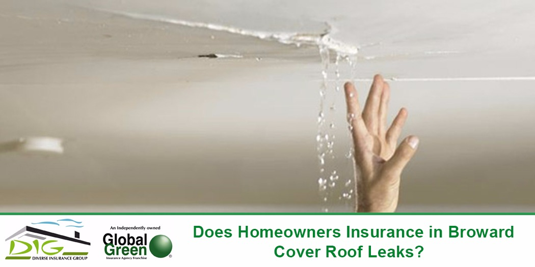 Does Homeowners Insurance In Broward Cover Roof Leaks?