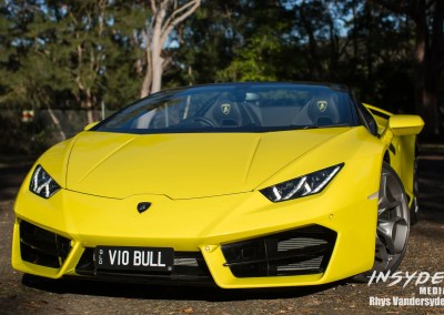 Photo Shoot: Lamborghini Huracan Spider