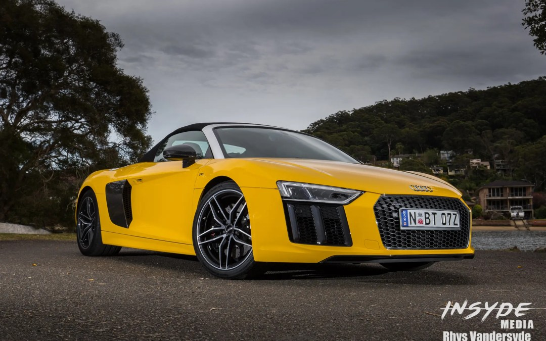 Photo Shoot: Audi R8 Spyder