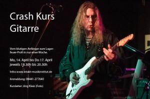 Jörg Klein Crash Kurs Gitarre