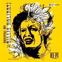 Billie Holiday – Recital by Billie Holiday