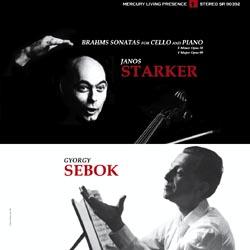 Brahms Sonatas for Cello and Piano : Janos Starker/Gyorgy Sebok