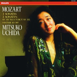 Mozart : Piano Sonatas KV 331 & 332 – Mitsuko Uchida